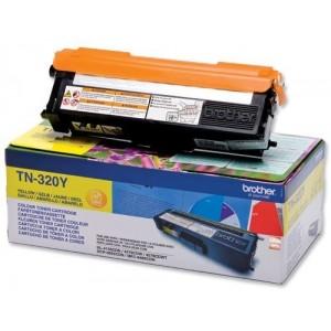 Brother TN-320Y оригинална жълта тонер касета