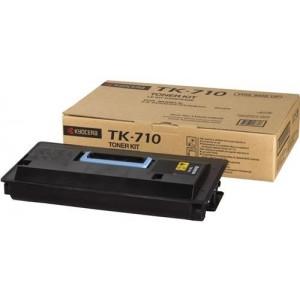 Kyocera TK-710 оригинална черна тонер касета