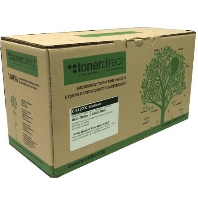 Ecotoner HP C4182X черна касета