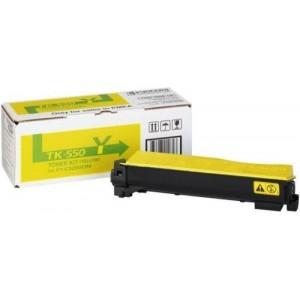 Kyocera TK-550Y оригинална жълта тонер касета