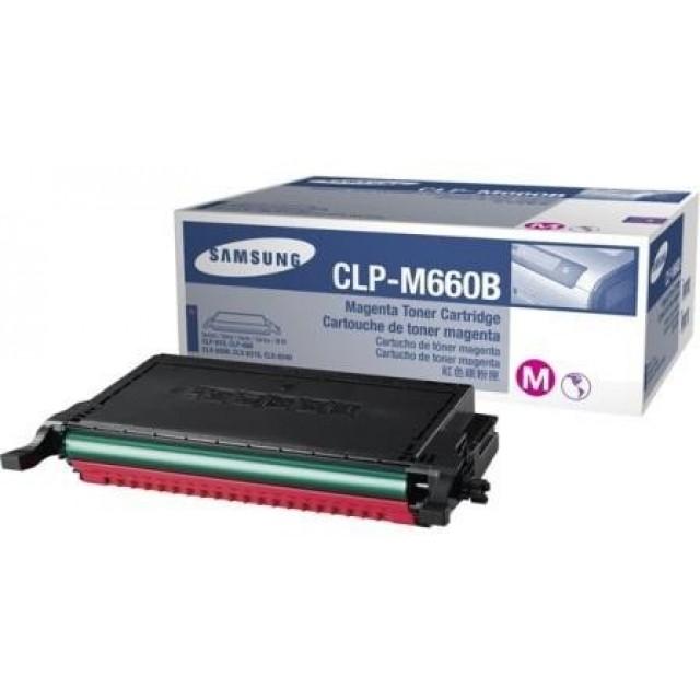 Samsung CLP-M660B оригинална червена тонер касета