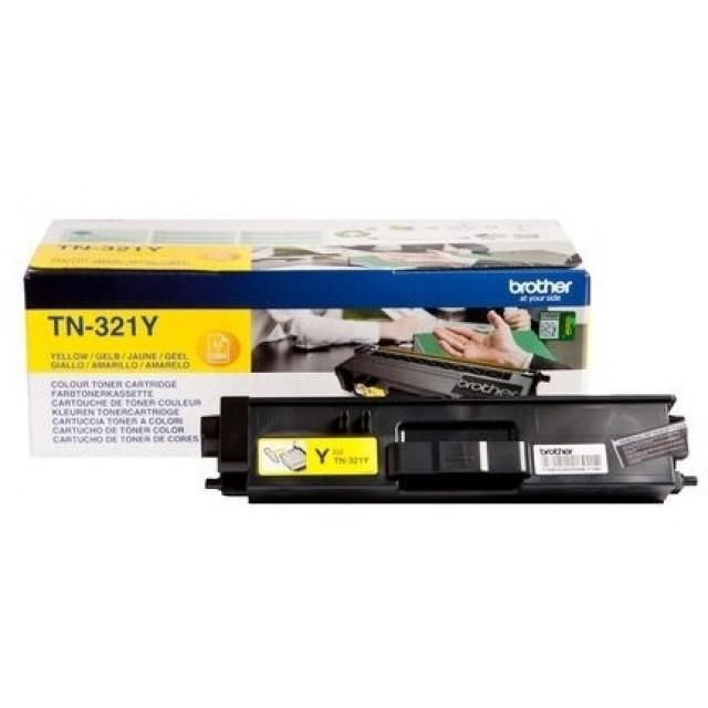 Brother TN-321Y оригинална жълта тонер касета