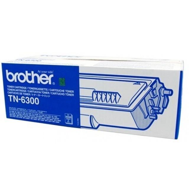 Brother TN-6300 оригинална черна тонер касета