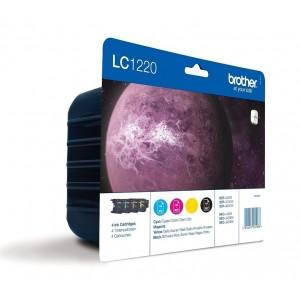 Brother LC-1220 комплект CMYK мастилени касети