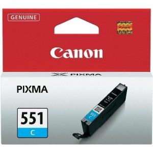 Canon CLI-551C синя мастилена касета