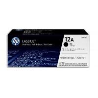 HP Q2612AD двоен пакет оригинални черни тонер касети 12A
