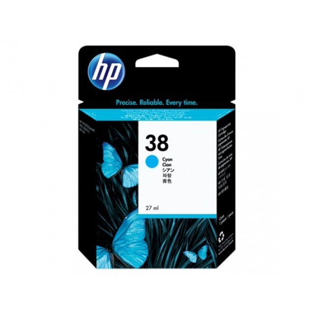 HP C9415A синя мастилена касета 38