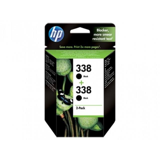 HP CB331EE двоен пакет черни мастилени касети 388