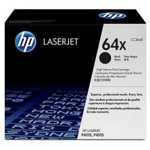 HP CC364X оригинална черна тонер касета 64X