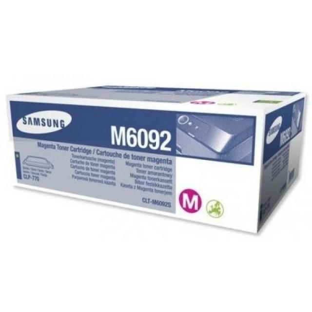 Samsung CLT-M6092S оригинална червена тонер касета