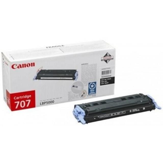Canon CRG-707B оригинална черна тонер касета