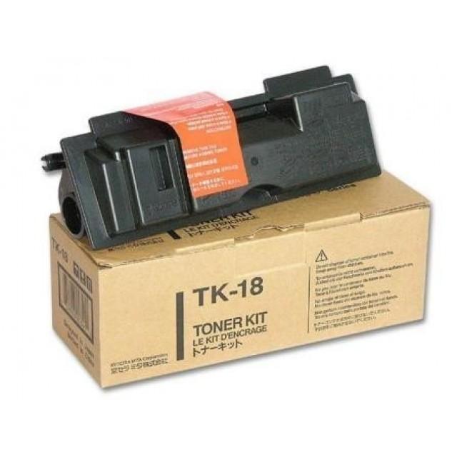 Kyocera TK-18 оригинална черна тонер касета