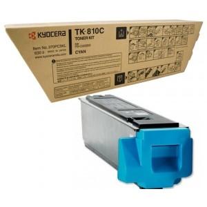 Kyocera TK-810C оригинална синя тонер касета