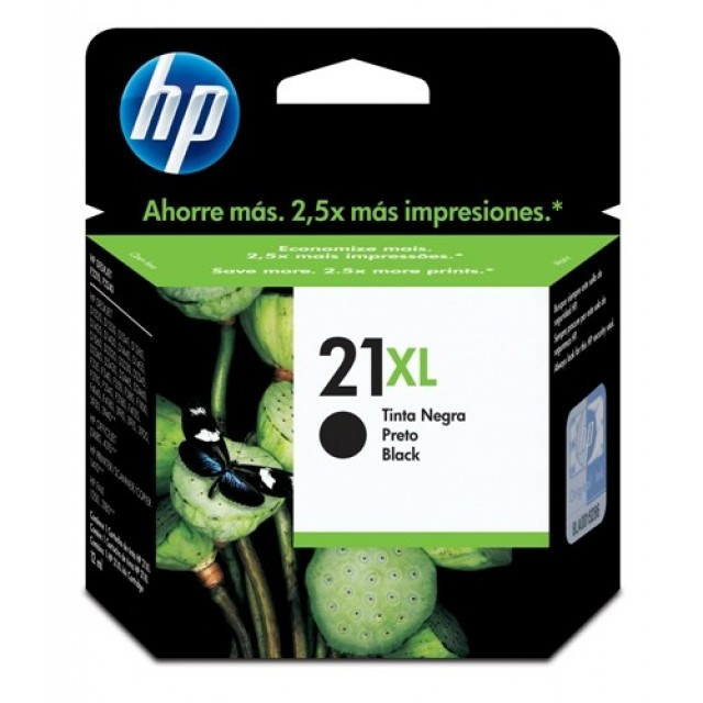 HP C9351CE черна мастилена касета 21XL