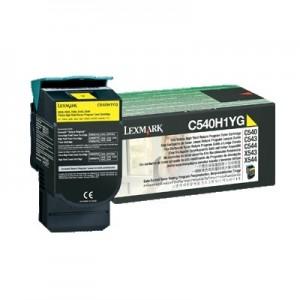 Lexmark C540H1YG оригинална жълта тонер касета (Return Program)