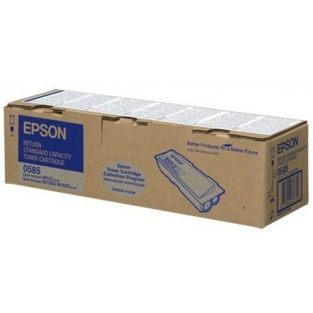 Epson C13S050585 оригинална черна тонер касета (return program)