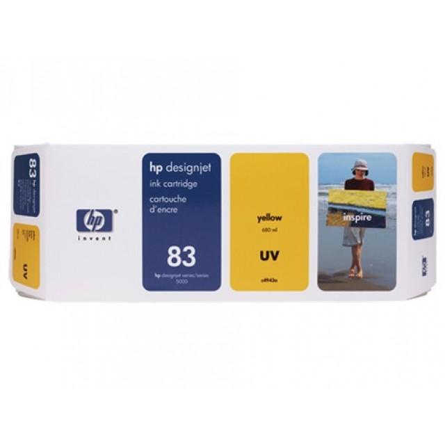 HP C4943A жълта UV мастилена касета 83