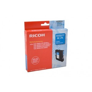Ricoh GC21CYN синя мастилена касета 405533