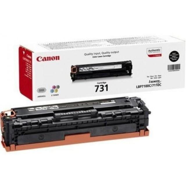 Canon CRG-731BK оригинална черна тонер касета