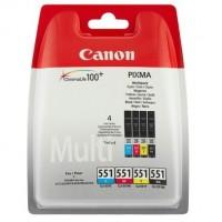 Canon CLI-551CMYK комплект мастилени касети