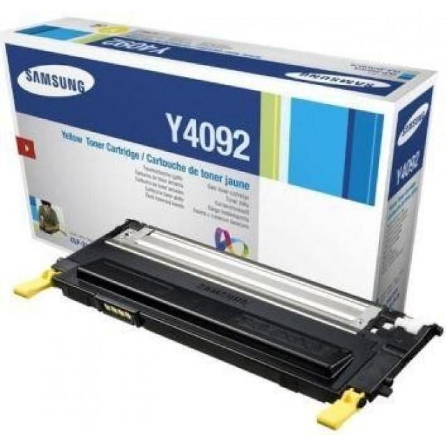Samsung CLT-Y4092S оригинална жълта тонер касета