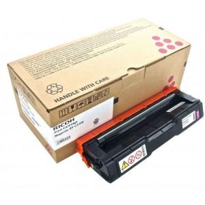 Ricoh SPC310SYMGT оригинална червена тонер касета 406350