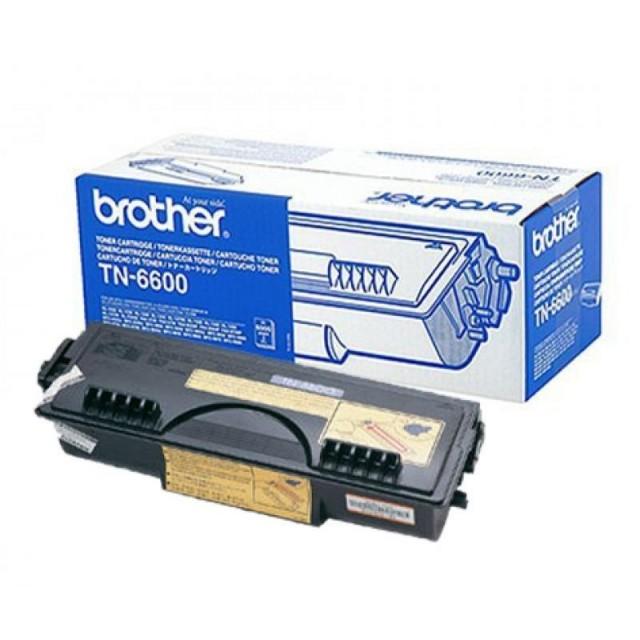 Brother TN-6600 оригинална черна тонер касета