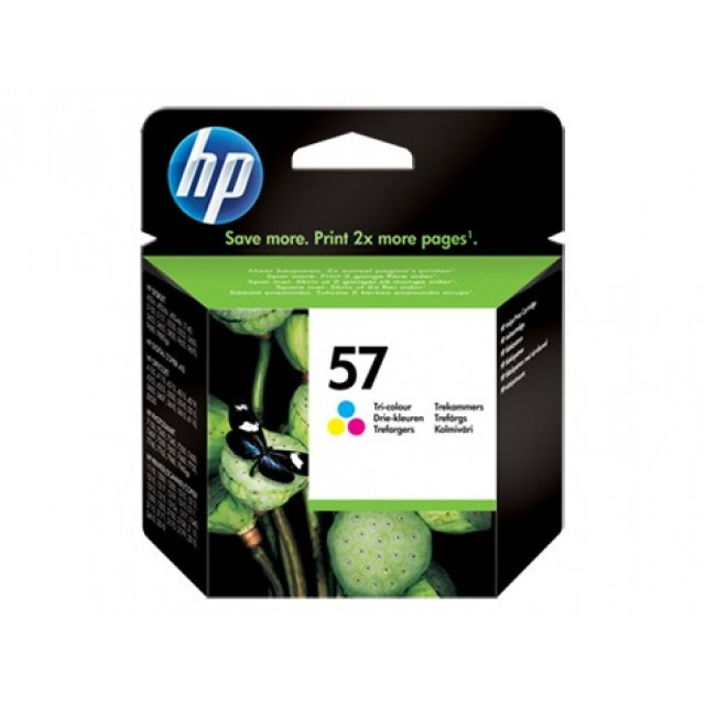 HP C6657AE трицветна мастилена касета 57