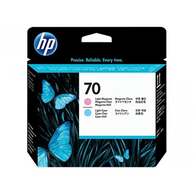 HP C9405A светло червена и светло синя печатаща глава 70