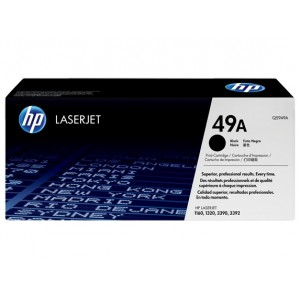 HP Q5949A оригинална черна тонер касета 49A