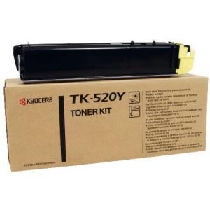 Kyocera TK-520Y оригинална жълта тонер касета