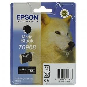 Epson T0968 черен мат мастилена касета