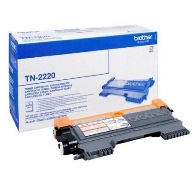 Brother TN-2220 оригинална черна тонер касета