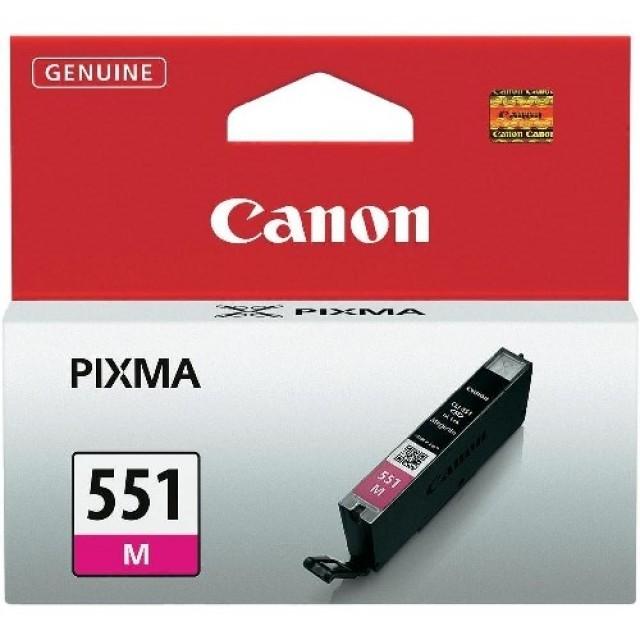 Canon CLI-551M червена мастилена касета