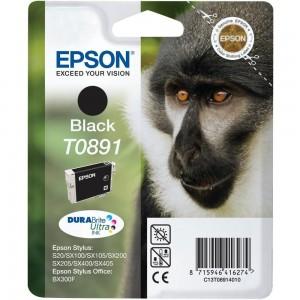 Epson T0891 черна мастилена касета
