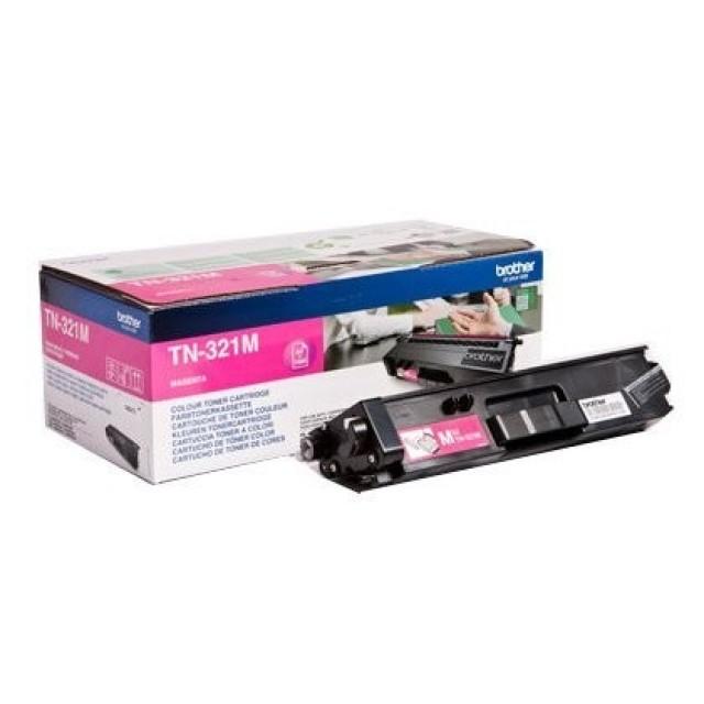 Brother TN-321M оригинална червена тонер касета