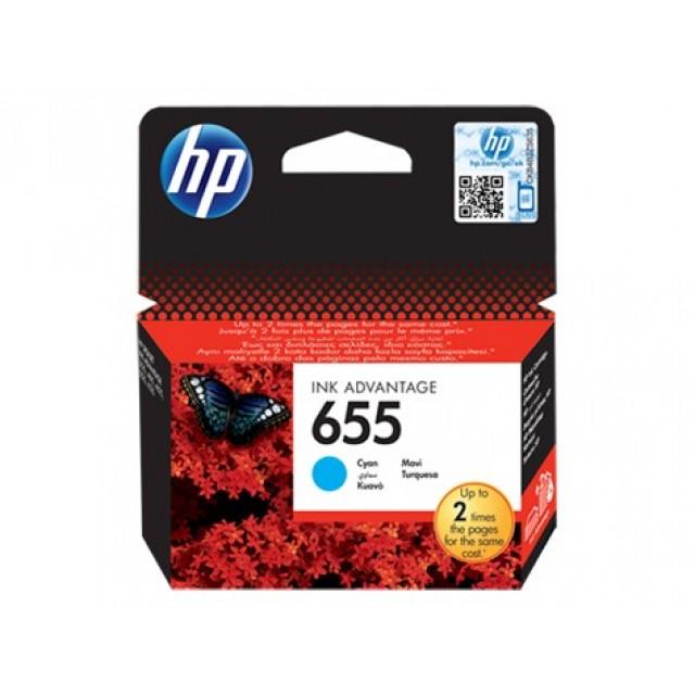 HP CZ110AE синя мастилена касета 655