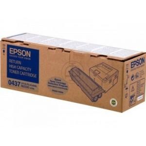 Epson C13S050437 оригинална черна тонер касета (return program)