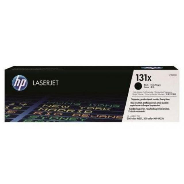 HP CF210X оригинална черна тонер касета 131X