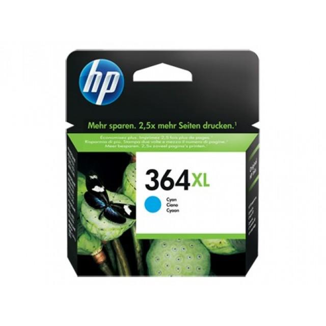 HP CB323EE синя мастилена касета 364XL