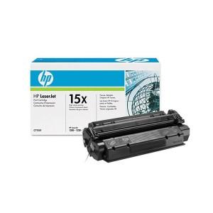 HP C7115X оригинална черна тонер касета 15X