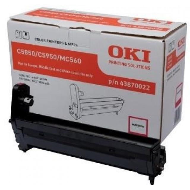 OKI 43870022 оригинален червен барабанен модул