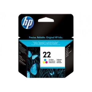HP C9352AE трицветна мастилена касета 22