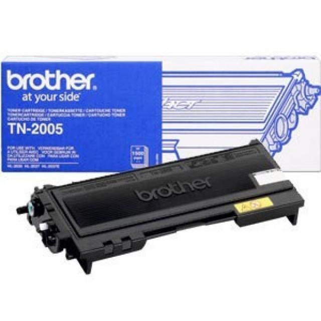 Brother TN-2005 оригинална черна тонер касета