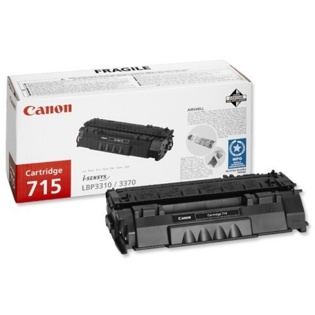 Canon CRG-715 оригинална черна тонер касета