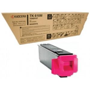 Kyocera TK-810M оригинална червена тонер касета