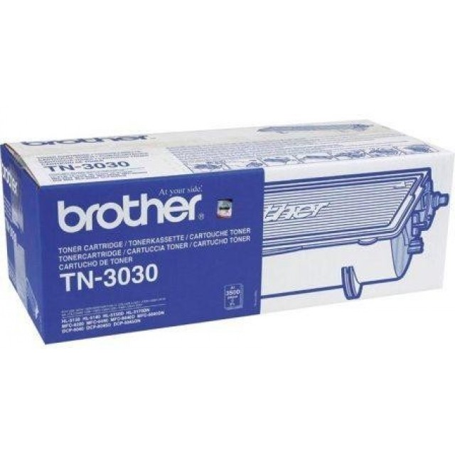 Brother TN-3030 оригинална черна тонер касета