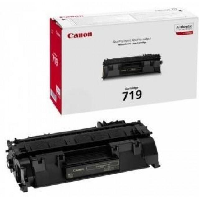 Canon CRG-719 оригинална черна тонер касета