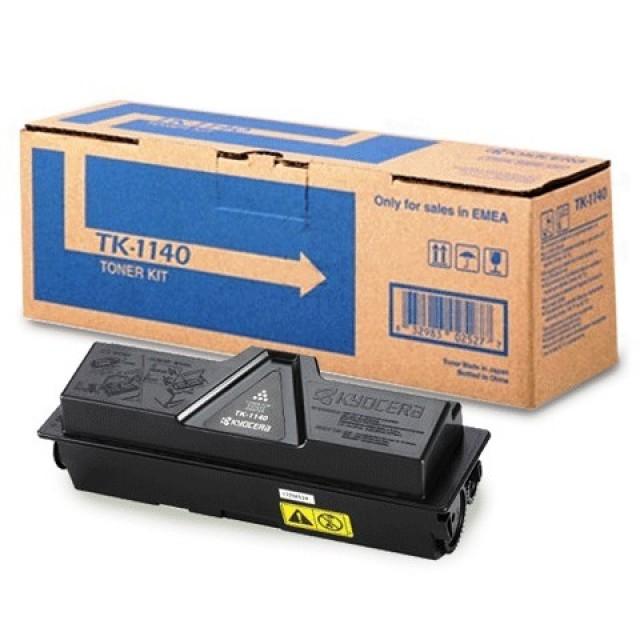 Kyocera TK-1140 оригинална черна тонер касета