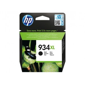 HP C2P23AE черна мастилена касета 934XL